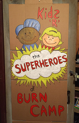 Kids are the Superheroes of Arthur C. Luf Children's Burn Camp!